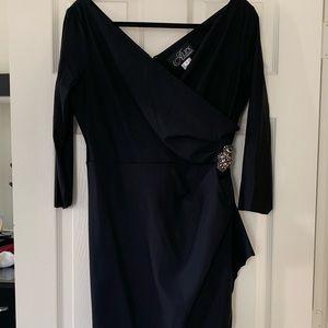 Alex Evenings Black Dress sz. 10